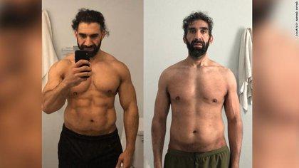 Ahmad Ayyad antes y después del coronavirus