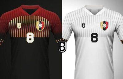 Diseñador saca nuevas propuestas de los uniformes de la Vinotinto