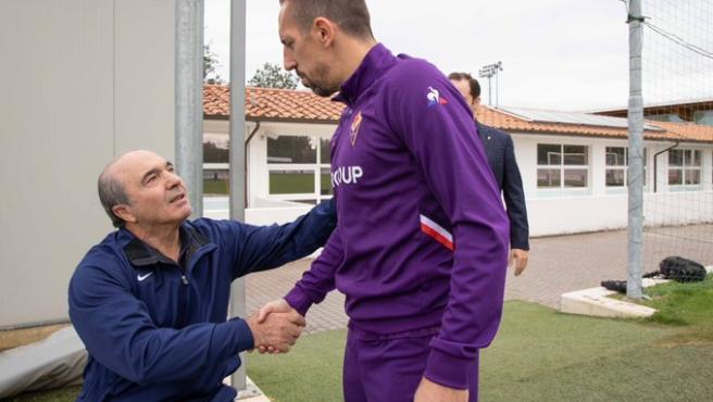 Roban en casa de Ribéry mientras disputaba un partido
