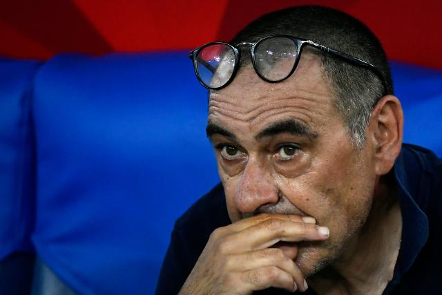 Maurizio Sarri, despedido de la Juventus tras fracasar en la Champions