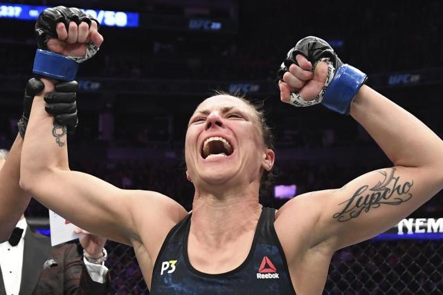 El sorprendente entrenamiento de una luchadora de UFC con ocho meses de embarazo