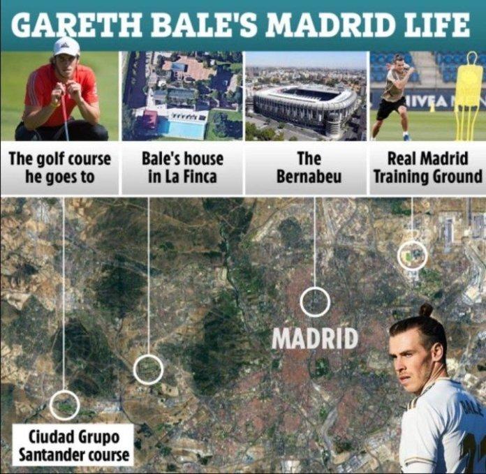 Bale no es dueño de la propiedad, sino que paga 11.140 euros al mes de alquiler.