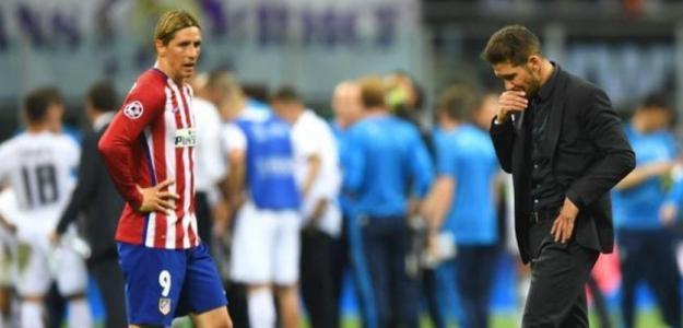 Fernando Torres no soportaba Simeone en el Atlético de Madrid