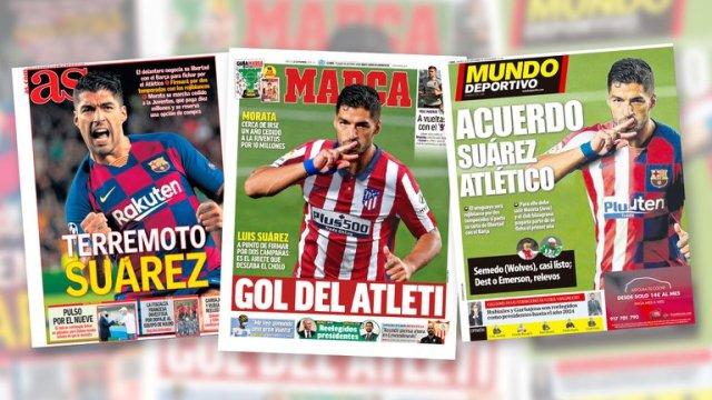 En Italia investigan a Luis Suárez y se complica su pase al Atlético