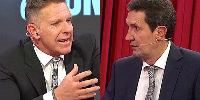 Alejandro Fantino y Miguel Simón chocaron por un asunto personal y el periodismo. ¿Duelo de egos?