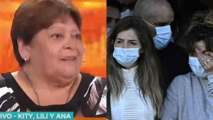 Hija de Maradona le responde a su tía por, supuestamente, haber abandonado al jugador