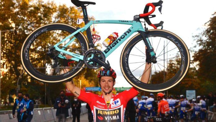 Unión RadioPrimoz Roglic gana el «Vélo D'Or» al mejor ciclista del año