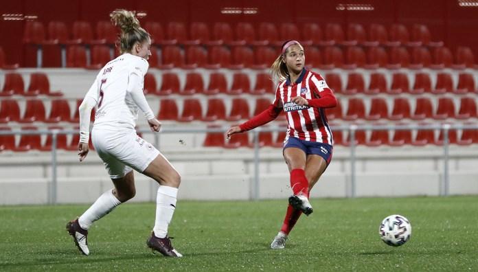 Deyna Castellanos volvió a marcar y asistir en la goleada del Atlético en Champions