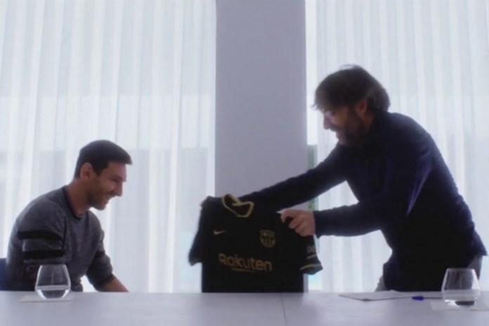 Messi: «Volvería a mandar el burofax»