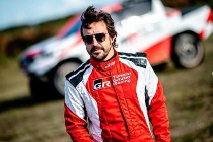 Fernando Alonso fue arrollado por un auto en Suiza