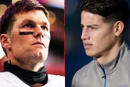 Británicos se burlan de estadounidenses comparando a James con Tom Brady