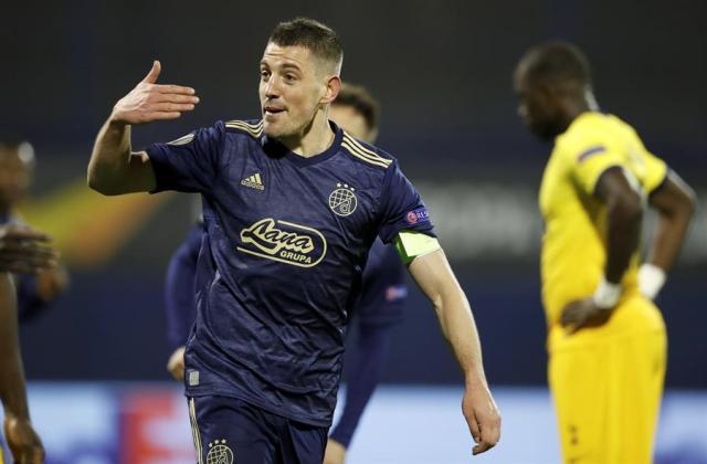Europa League: Dinamo Zagreb eliminó a Tottenham de Mourinho