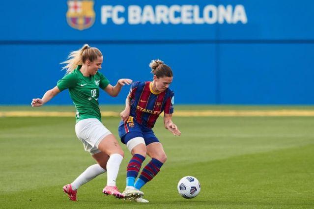Jugadaora del Barcelona, María León es suspendida por cuatro partidos a causa de un comentario en twitter