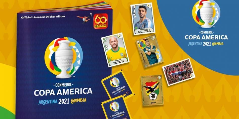 Lo que debe saber del álbum de Copa América
