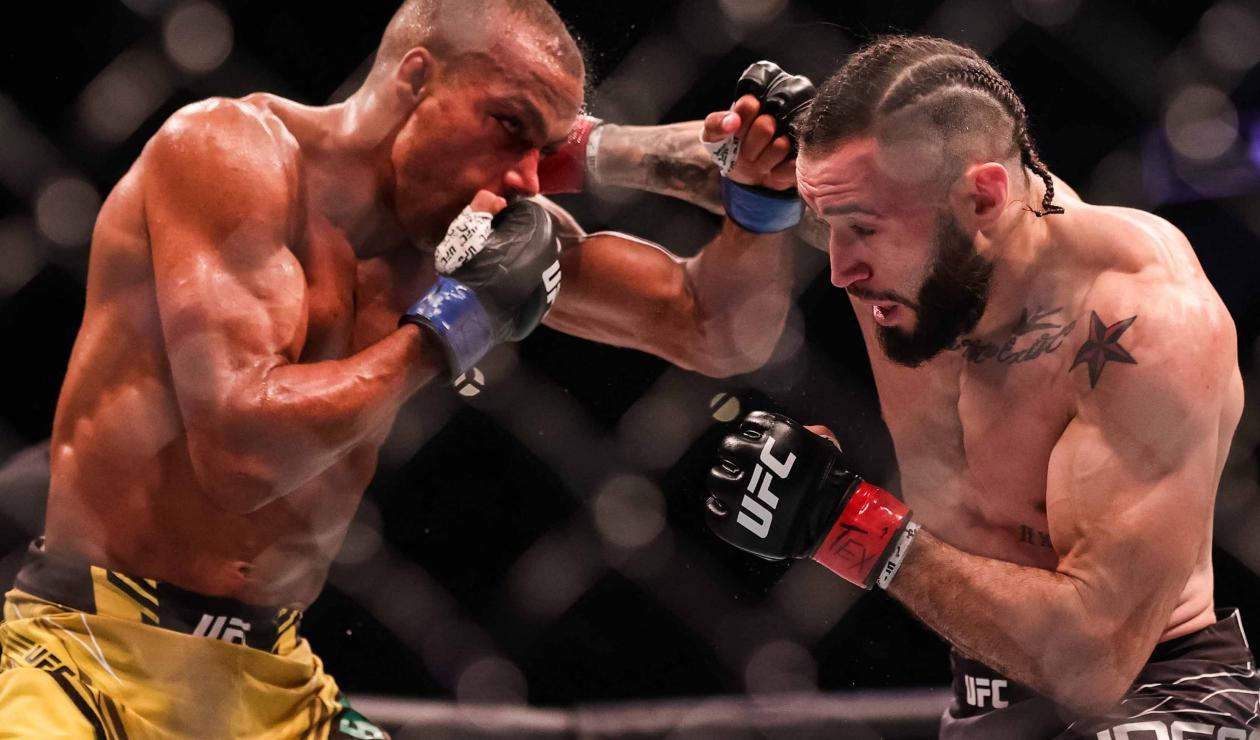 UFC: Shane Burgos sufrió brutal nocaut retardado