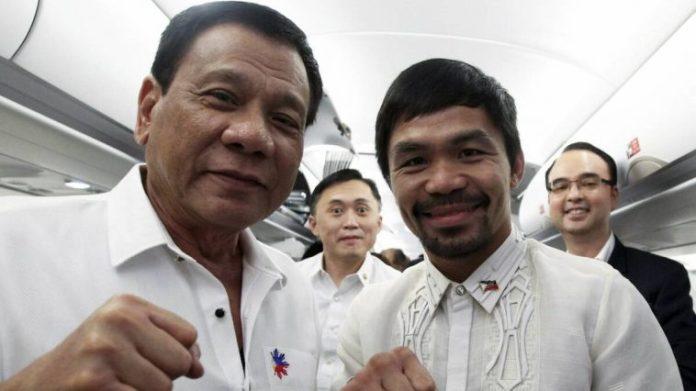 """Presidente de Filipinas arremete contra Pacquiao: """"No voten por él porque es un mentiroso"""""""