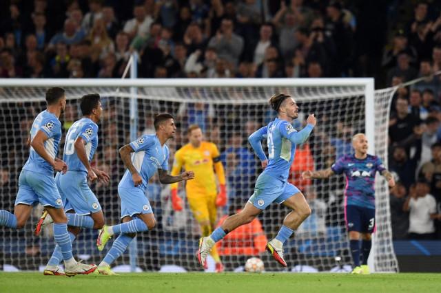 Manchester City se cayó a goles con el Leipzig en la Champions League