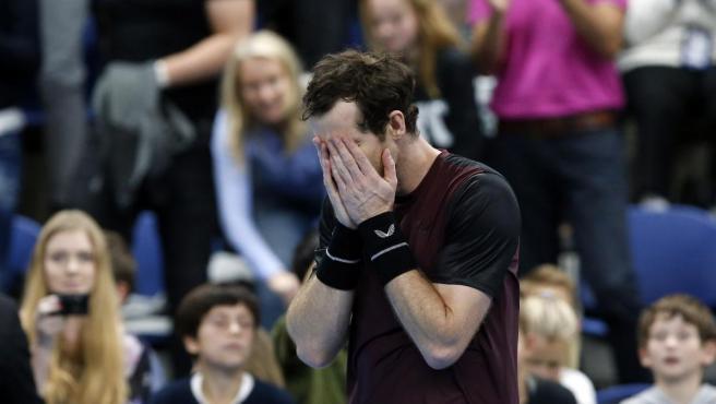 La rocambolesca historia del anillo de boda de Andy Murray, perdido y encontrado atado a sus zapatillas