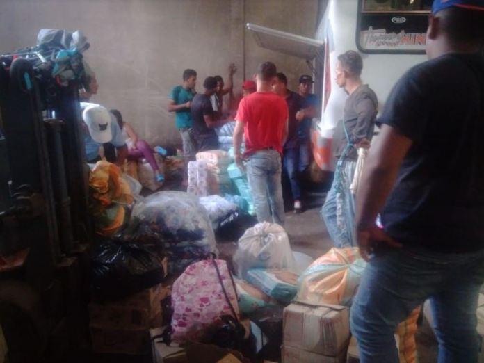 Toneladas de productos van de San Antonio del Táchira a todo el país
