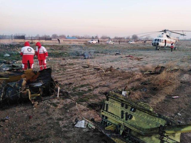 Se estrella un avión ucraniano con 180 personas a bordo en Teherán