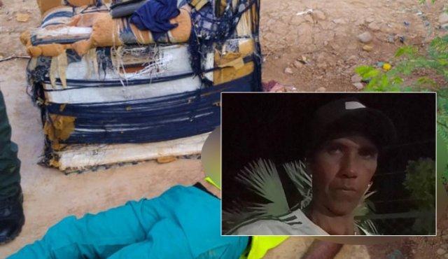 Ultiman a venezolano sentado en un sofá en Cúcuta
