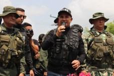 El desfile estuvo encabezado por el protector del estado Táchira, Freddy Bernal. (Foto/Johnny Parra)