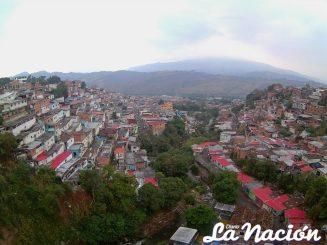 Panoramica de barriada de San Cristóbal. (Foto/Johnny Parra)