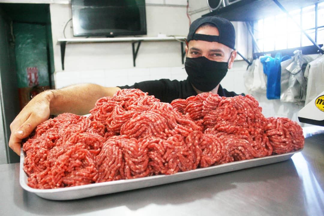 Con amplia oferta precios de la carne se intenta mantener pero en pesos