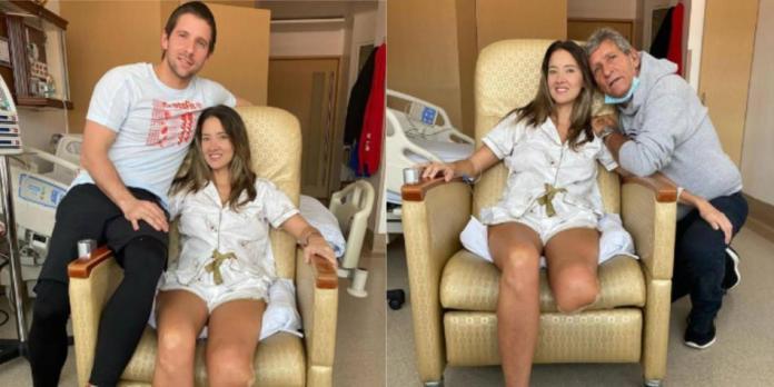Miss colombiana que aceptó amputar su pierna muestra a sus seguidores cómo da ahora sus pasos