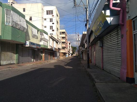 Otra de las calles principales de San Antonio del Táchira.