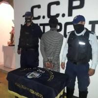 Lo detuvieron con droga y reaccionó golpeando a un efectivo de Politáchira