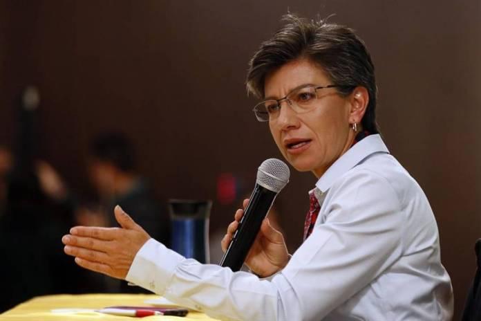 Alcaldesa de Bogotá sigue culpando a los venezolanos por los delitos en la ciudad
