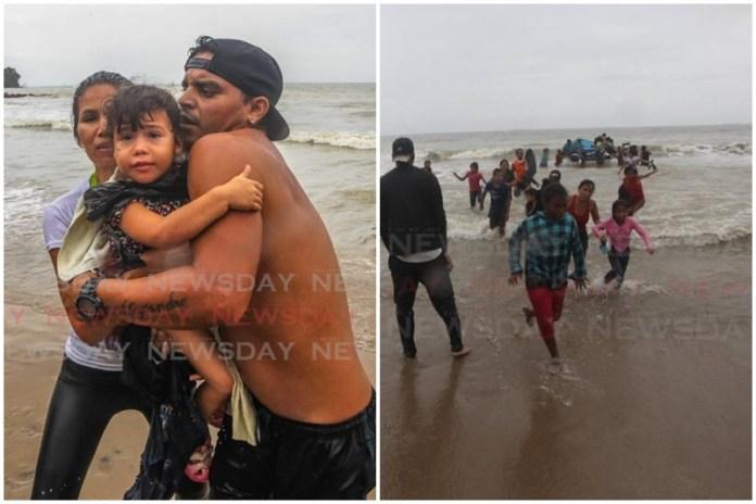 Así fue el momento en el que venezolanos deportados llegan de nuevo a Trinidad y Tobago