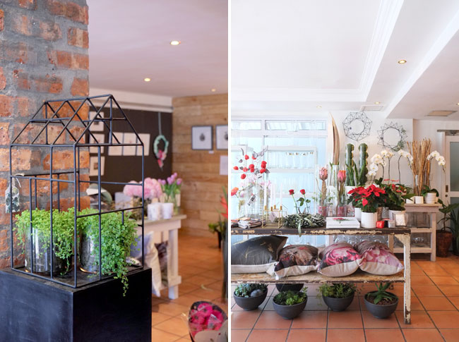 Stalk of the Town, beautiful flower shop in Cape Town