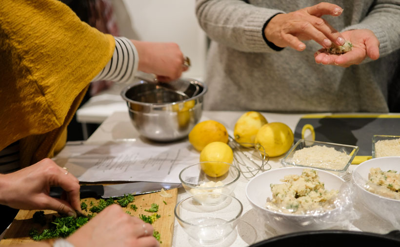 Ginger and Lime cooking experience