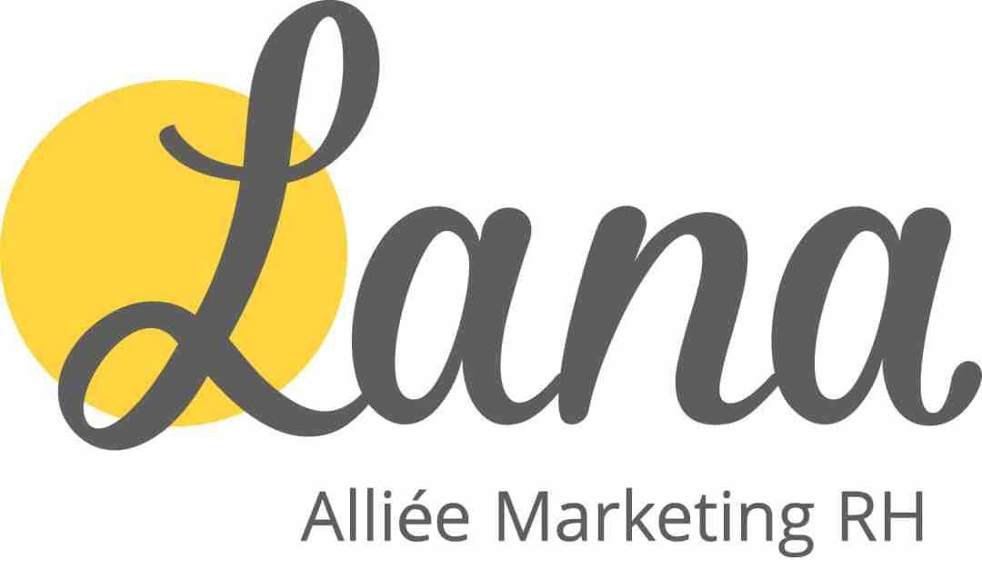 Logo Lana Pedneault Alliée Marketing Rh Coul