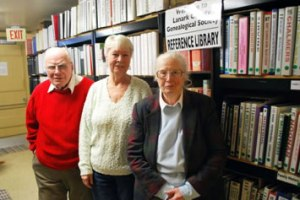 Volunteers for the Genealogy Resource Centre