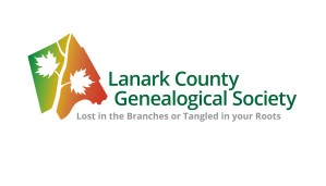 Lanark County Genealogy Society logo