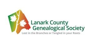 Lanark County Genealogy Society logo