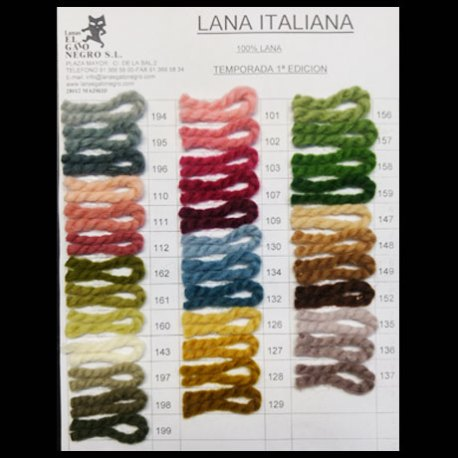 Carta-de-Colores-Lana-Italiana-1ª Edic
