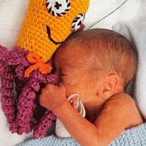 pulpitos de ganchillo para bebés