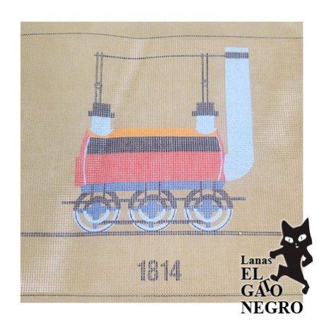 cañamazo tren 1814