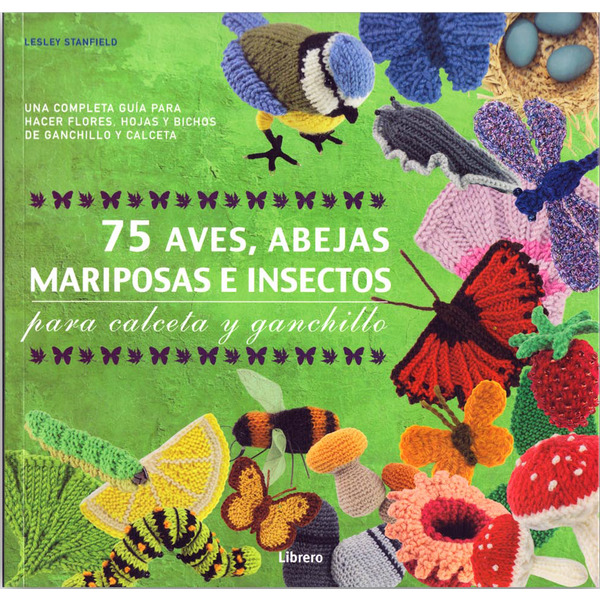 75 aves, abejas, mariposas