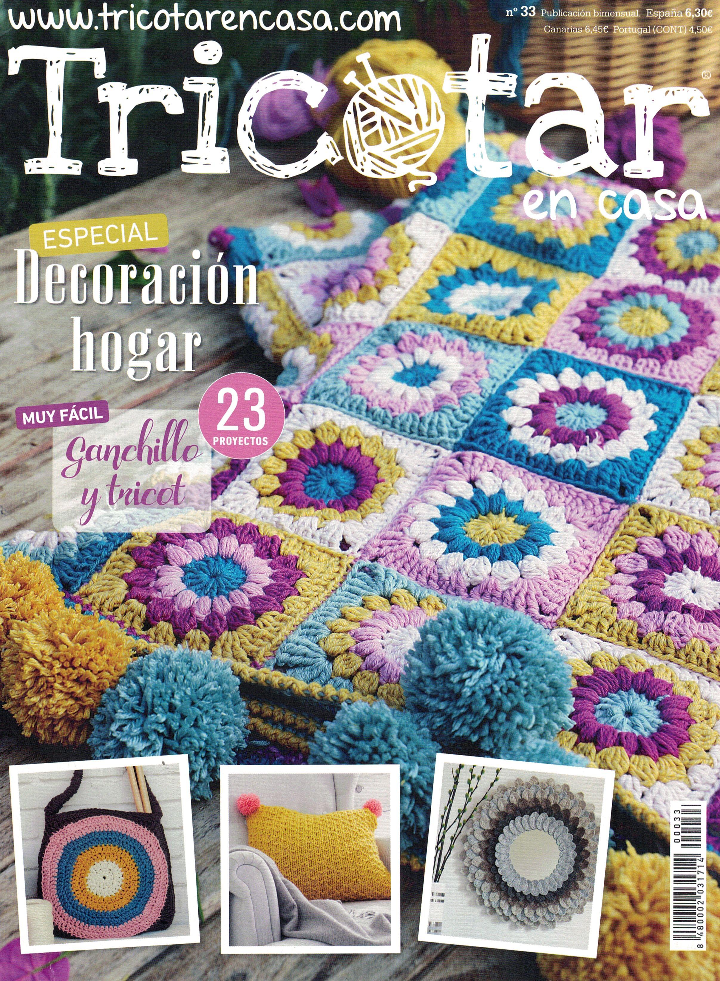 Revista tricotar en casa