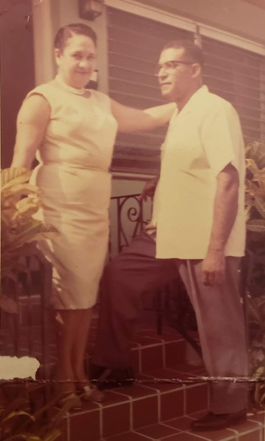 My great grandparents Theadora and Santos.