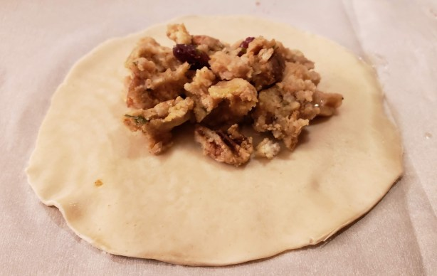 stuffing turkey empanada