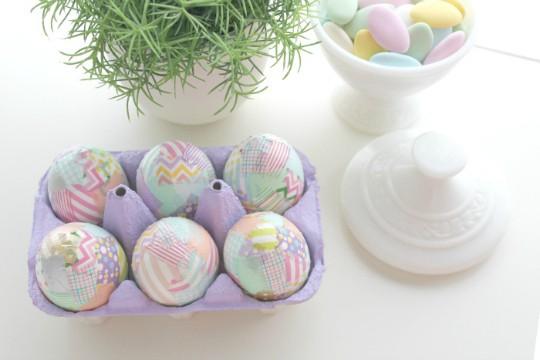 Huevos de Washi-Tape