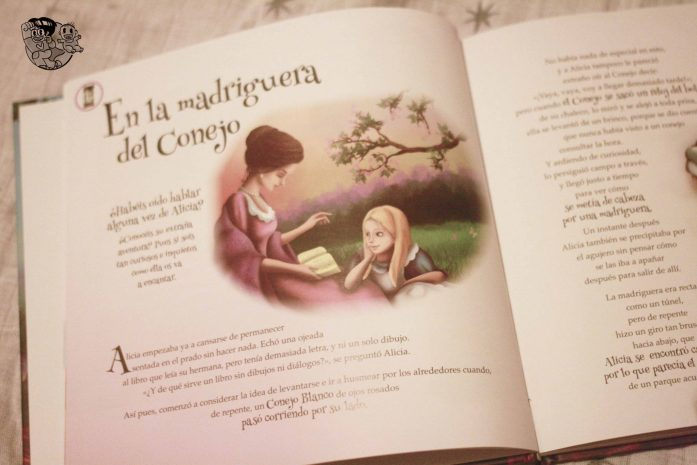 Alicia interior del libro