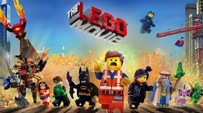 lego the movie portada de la pelicula