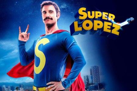 imagen de caratula de la película de super lopez